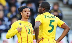Benoît Assou-Ekotto, left, and Sébastien Bassong play for Cameroon, the land of their fathers, rather than France, the land of their birth.