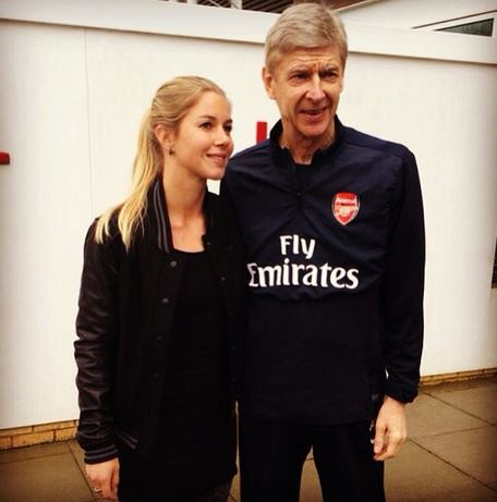 Anouk and Wenger