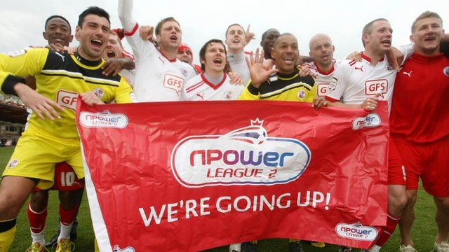 crawley promotion